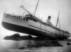 SS Princess May – wrecked on sentinel island, alaska 1910