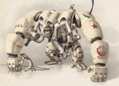 Space Monkey Exo Suit