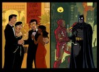 batman and ironman cross over