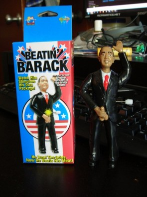 beating barack