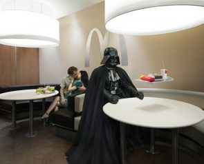 darth vader's mcdonalds advertisment