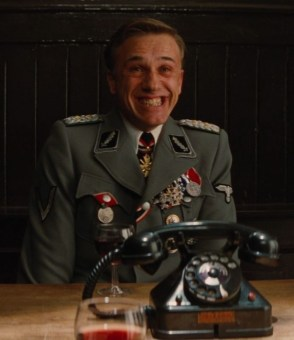 happy nazi from the inglorious basterds