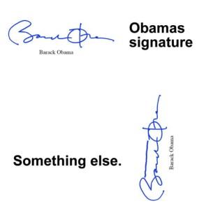 obamas signature