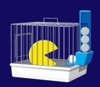 pacman cage