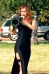 sexy redhead with bazooka