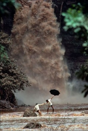 waterfall umbrella