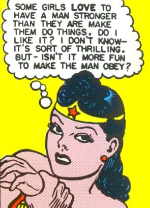 wonder woman ponders submission