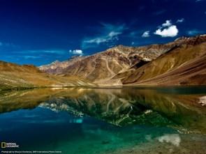 Lake of the Moon, India