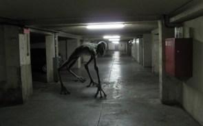 car garage alien
