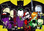 chibi batman villians
