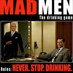 madmen drinking game