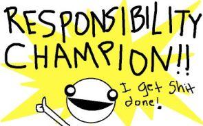 responsibility champion