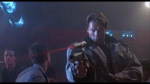 terminator with lazer pistol