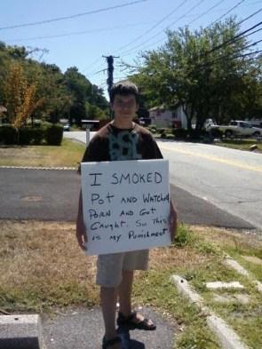 I smoked pot