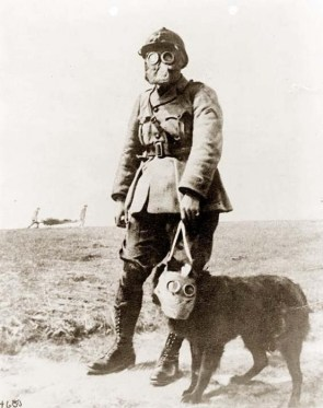Soldier – French Gasmask