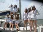 asian boat crew