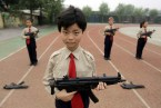 asian with gun