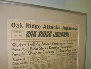 atomic bomb saves the world