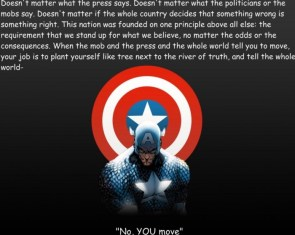 captain america – no, you move