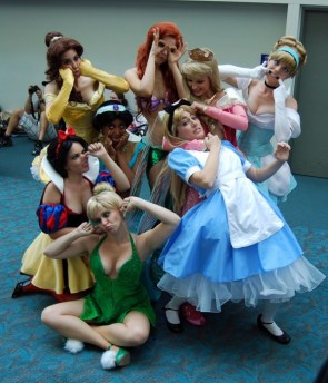 disney princesses being unprincess like