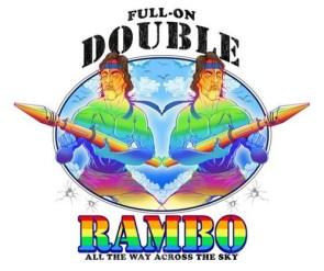 full-on double rambo