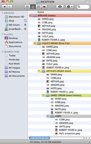 inception on a mac