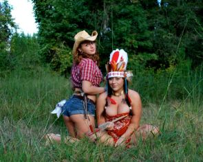 nsfw – cowgirls and indians
