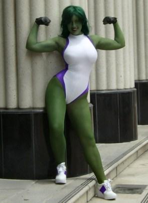she hulk cosplayer