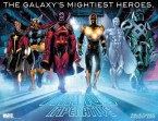 the galaxy's mightiest heroes