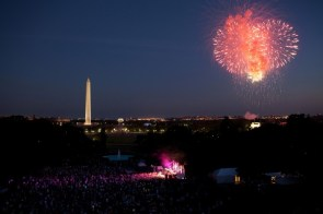 washinton memorial fireworks wallpaper