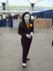 Female Joker Cosplayer