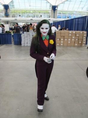 Female Joker Cosplayer
