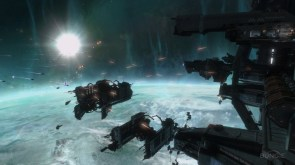 halo reach space battle