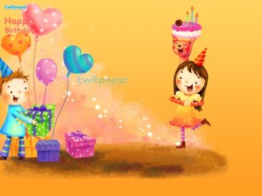 happy birthday twitter wallpaper