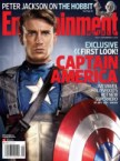 Chris Evans as Captain America on the Cover of EW