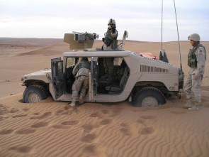 military sand trap