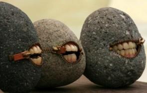 mouth rocks