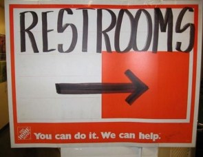 restrooms – you can do it. we can help