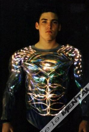Tim Burton's Superman Costume