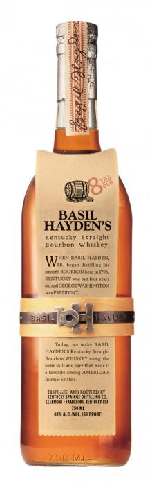 basil hayden's kentucky straight bourben whiskey