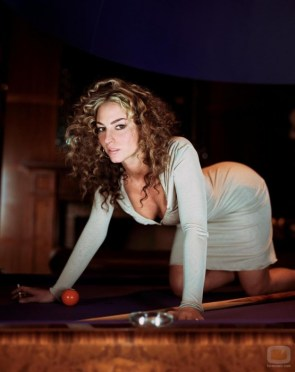 drea de matteo on her hands and knees