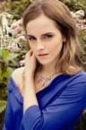 emma watson braless in blue