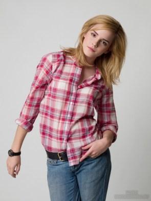 emma watson in flannel