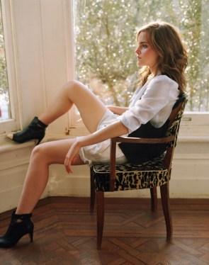 emma watson leggy in the window