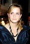 emma watson wears a pearl necklace