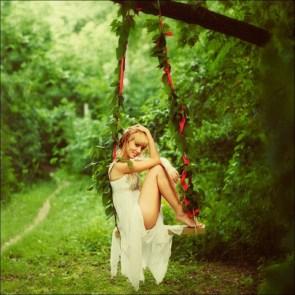 white dress swinger