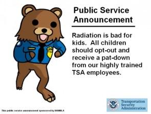TSA PSA from Pedobear