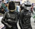 daft punk cosplayers