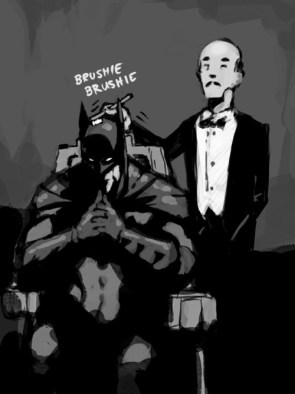 batman brushie brushie