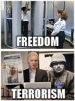 freedom vs terrorism